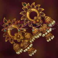 Big Size Multi Layer Jhumka Earrings Latest Fashion Jewellery Designs
