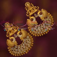 Big Size Temple Chandbali Glass Stones Latest Traditional Gold Design Collections