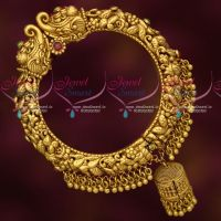 Antique Gold Finish Intricately Designed Hollow Kada Nakshi Imitation Jewellery Collections