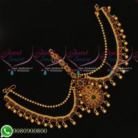 Kemp Tradional Bridal South Indian Jewellery Damini Mathapatti Latest Designs