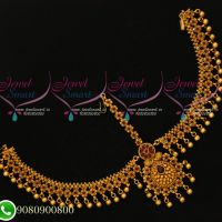 Floral Design Kemp Red Damini Handmade Grand Beautiful Bridal Jewellery Collections