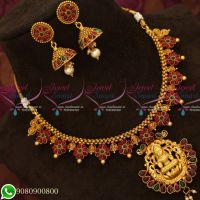 Real Kemp Stones Temple Jewellery Gold Plated Antique Collections Online