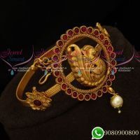 Peacock String Vanki Latest Traditional Bridal Wedding Jewellery