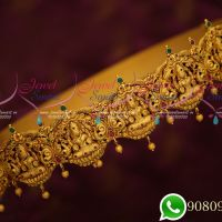 South Indian Exclusive Grand Bridal Temple Jewellery Traditional Oddiyanam