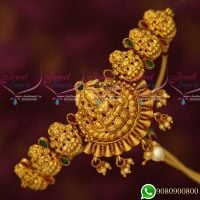 Antique Vanki Designs Gold Plated Temple Jewellery Bridal Collections Online