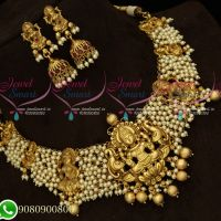 Temple Premium Bridal Pearl Jewellery Beads Design Collections Wholesale Prices