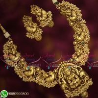Temple Jewellery Antique Gold Plated Broad Nagas Real Look Handmade Traditional Designs