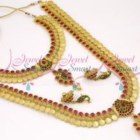 multi-kasulaperu-coin-laxmi-necklace-short-long-haram-combo-mini-bridal-jewellery-set