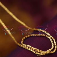 C2379 Gold Plated 30 Inches Length Box Design Fine 3MM Quality Chains Buy Online