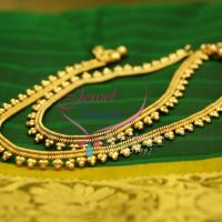 3b77a69eb5a A2432 Gold Plated Fancy Design Imitation Payal Leg Chain Anklet Indian  Traditional Jewelry
