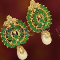 cz-white-sparkling-gorgeous-pearl-drops-earrings-gold-finish-fashion-jewellery-online